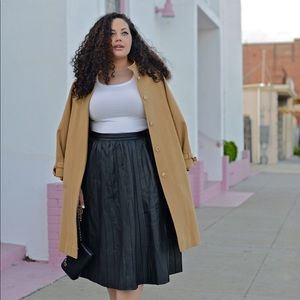 ASOS Faux Leather Skirt